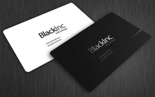 Imprimir cartões de visita